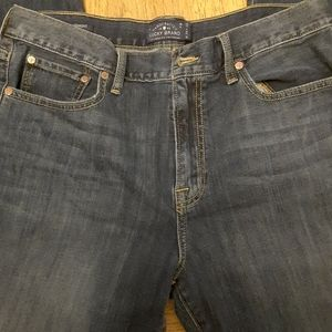 Lucky brand denim jeans 429 classic straight